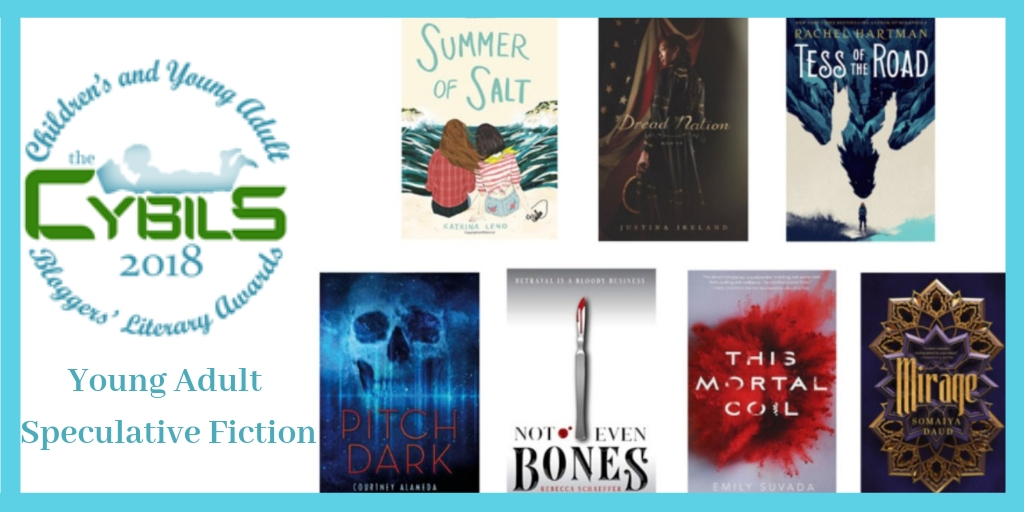 cybils Young Adult Speculative Fiction 2018